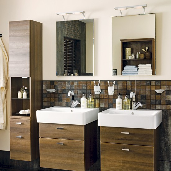 Couple's vanity units | Bathrooms | Decorating ideas | Image | Housetohome