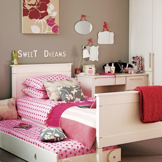 Neutral girl&rsquo;s bedroom | Children's rooms designs | Image | Housetohome