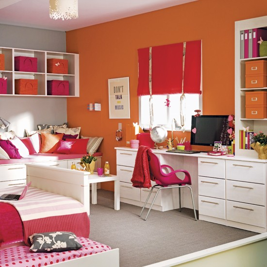 Multi-zoned children's room | Children's rooms | Bedrooms | Image | Housetohome