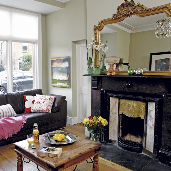 Old and new living room | Decorating ideas | Image | Housetohome.co.uk