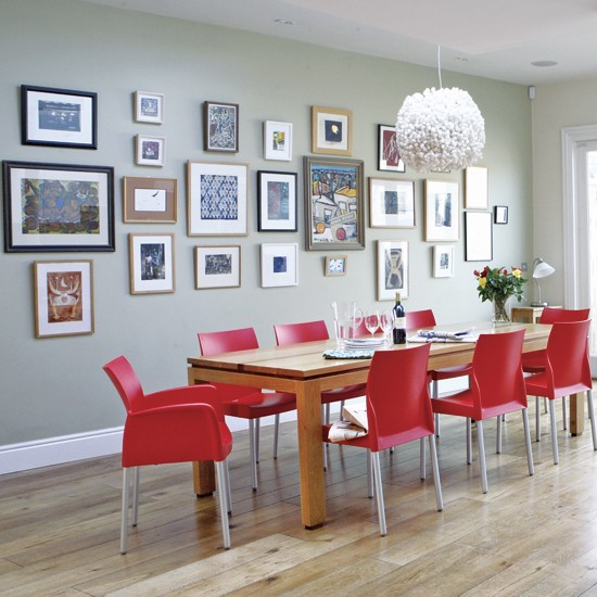 Retro dining room dining rooms design ideas for Dining room designs uk