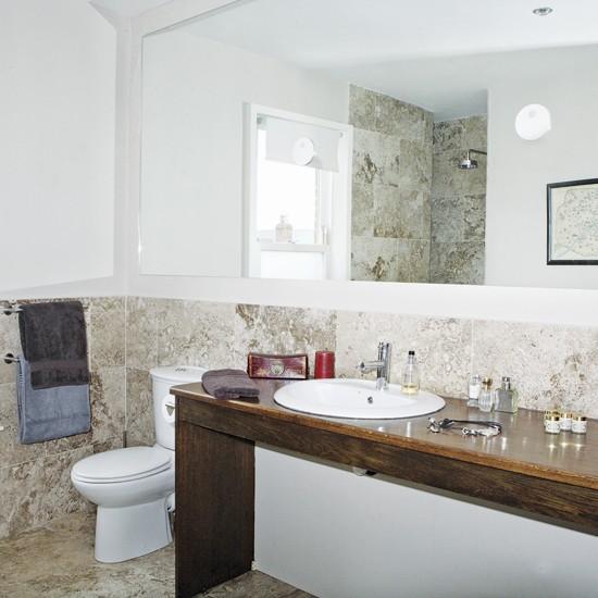 Marble bathroom   Bathrooms   Decorating ideas   Image   Housetohome