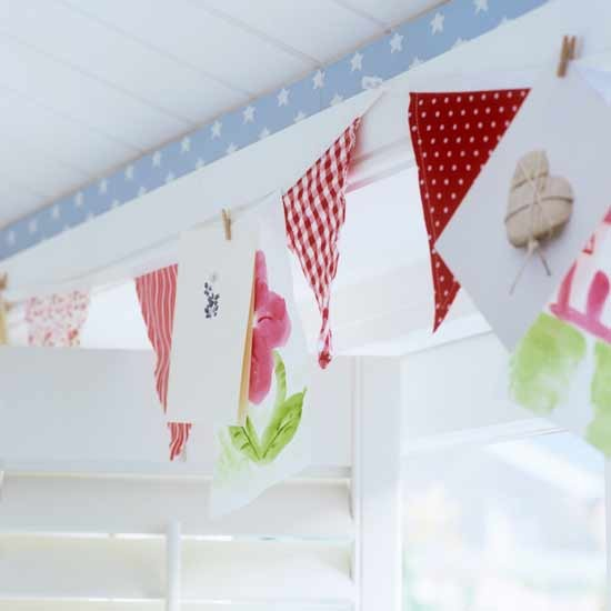 How To Make Home Beauteous With How to Make Bunting Flags Pictures