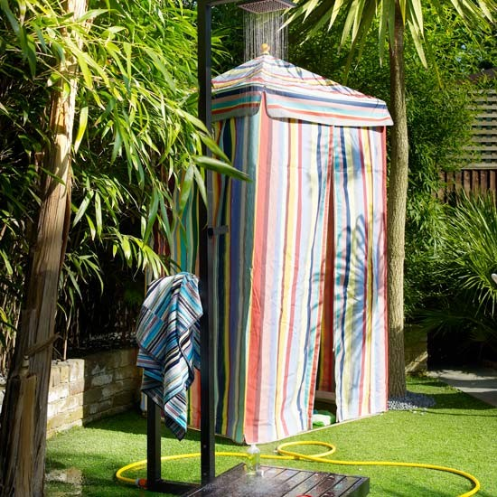 Outdoor shower rooms | Shower rooms | Gardens | Image | Housetohome