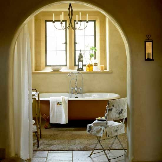 Rustic Bathroom Bathrooms Decorating Ideas Image