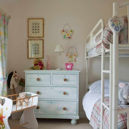 Eclectic child's bedroom