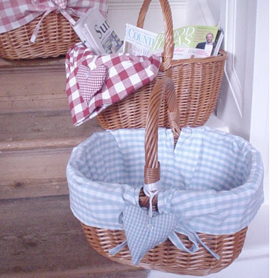 Wicker Basket - Country Cream