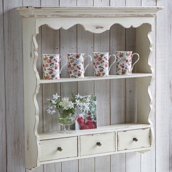 Rustic shelf unit live laugh love country kitchen for Off the shelf kitchen units