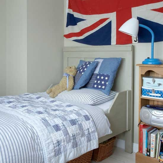 Union Jack boy's bedroom | Boys' bedrooms | Boys' bedroom ideas | Children's rooms | PHOTO GALLERY | Housetohome.co.uk