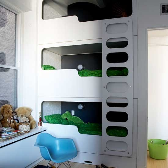Boys modern bunk beds