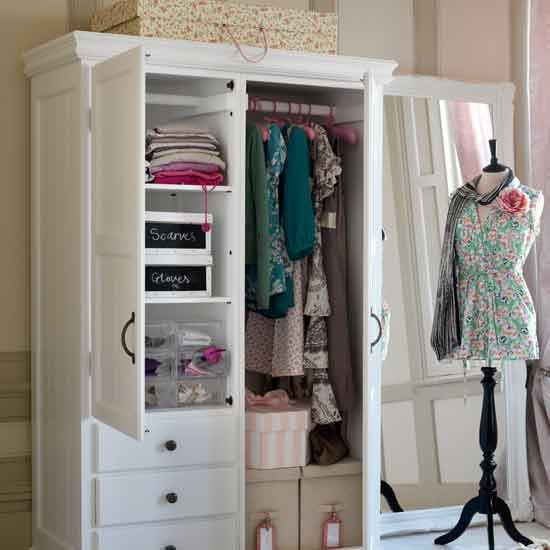 Bedroom wardrobe storage | Dressing room ideas | Bedroom designs | Bedroom storage | PHOTO GALLERY | Housetohome.co.uk