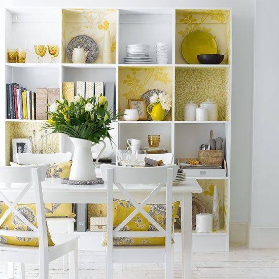 Decorative dining room shelving | Dining rooms | Design ideas | Image | Housetohome