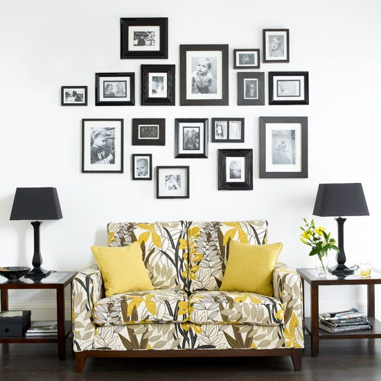 Living room with family photo wall | Living rooms | Design ideas | Image | Housetohome