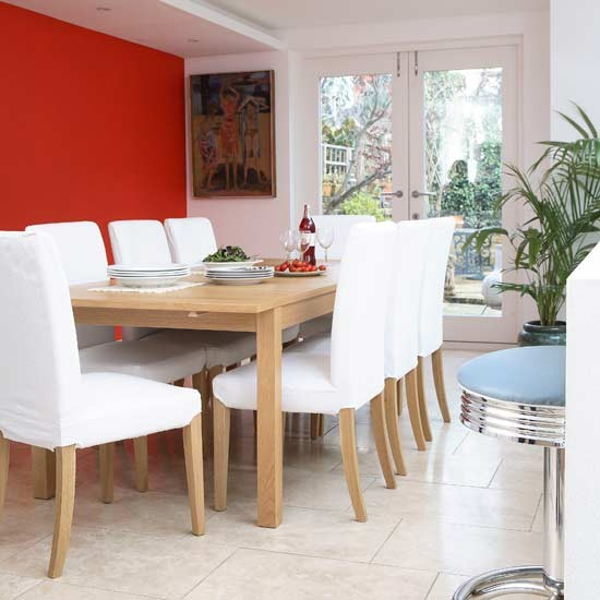 Bold dining area dining rooms design ideas image for Bold dining room colors