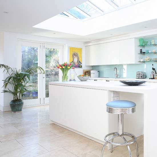 Cool and contemporary kitchen Kitchens Kitchen ideas