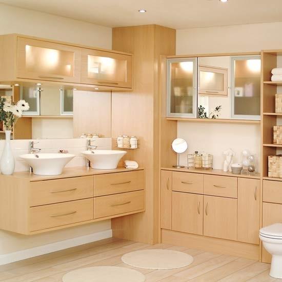Light Modern Bathroom Fitted Bathrooms Housetohomecouk