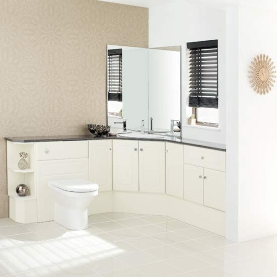 White Bathroom Fitted Bathrooms