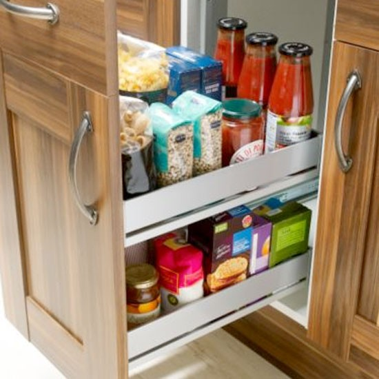Drawer organiser from b q kitchen storage ideas small for B q bedroom storage