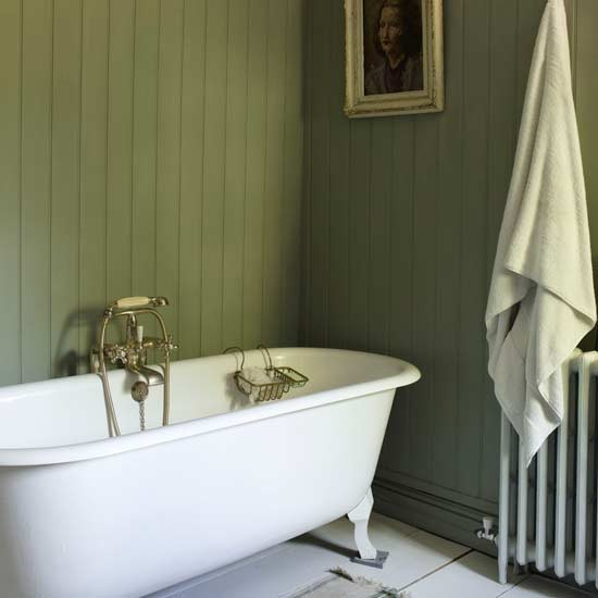Use tongue and groove panelling relaxed bathroom design for Bathroom ideas using tongue and groove