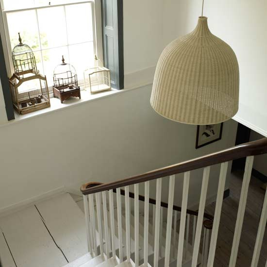 Mix textures for interest | Staircases | Hallway ideas | Image | Housetohome