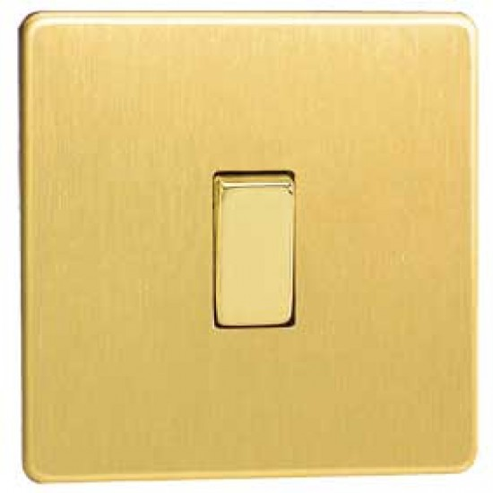 Brushed Brass Light Switches: Light Switch,Lighting