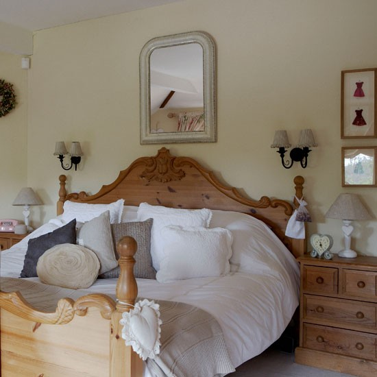 Country Bedroom Neutral Bedroom Ideas Bed