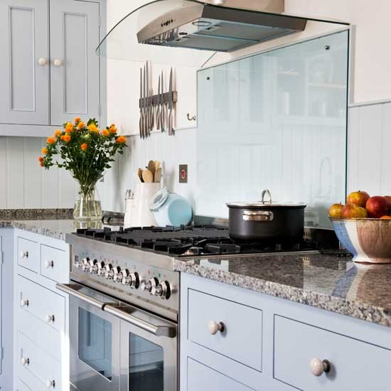Pastel blue shaker kitchen shaker kitchens kitchen for Shaker kitchen designs