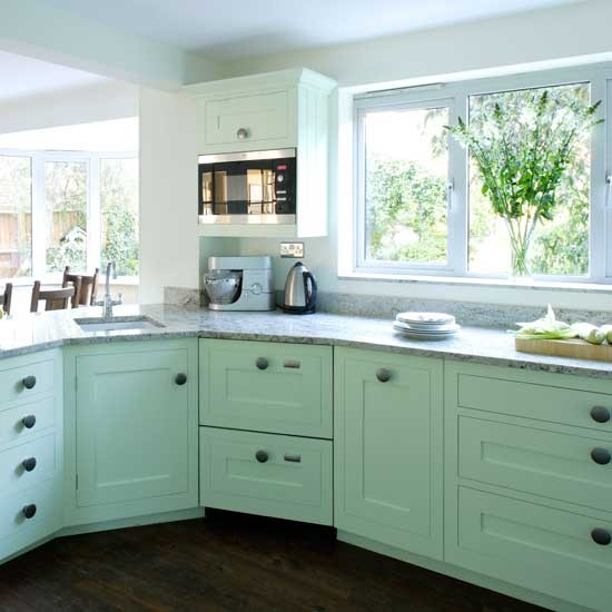 Turquoise Shaker kitchen  Shaker kitchens  Kitchen design ideas