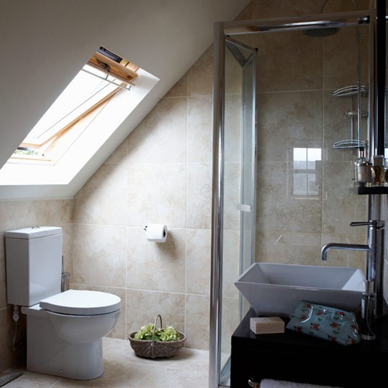 Compact Ensuite Attic Bathroom Attic Bathrooms