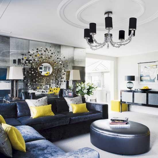 Zestful living room chic london apartment room designs for Living room designs uk