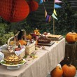 Trick or treat? Get spooky this Halloween with a themed table setting.