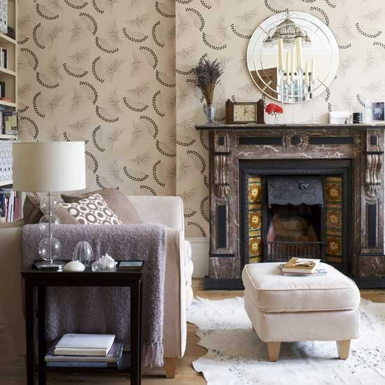 Floral living room | Living rooms | Design ideas | Image | Housetohome