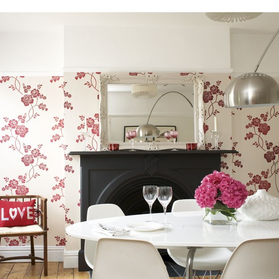 Floral dining room | Dining rooms | Design ideas | Image | Housetohome