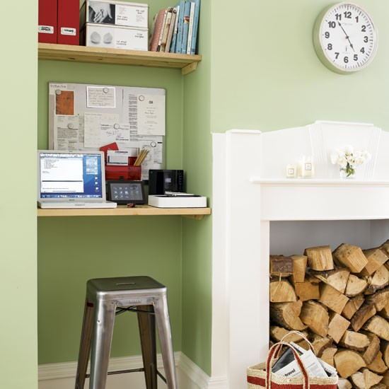 Alcove storage Home office Storage ideas Image  : kitchen alcove IKEA Home Office <strong>Ideas</strong> from www.housetohome.co.uk size 550 x 550 jpeg 58kB