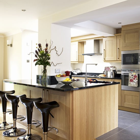 Kitchen diner kitchens designs ideas image for Kitchen design ideas uk