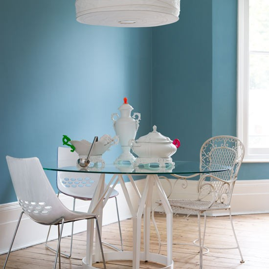 White accents | Dining room | Design ideas | Image | Housetohome