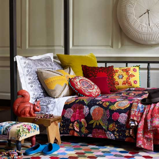 Folk living room | Colourful living rooms | Living room designs | PHOTO GALLERY | Housetohome.co.uk