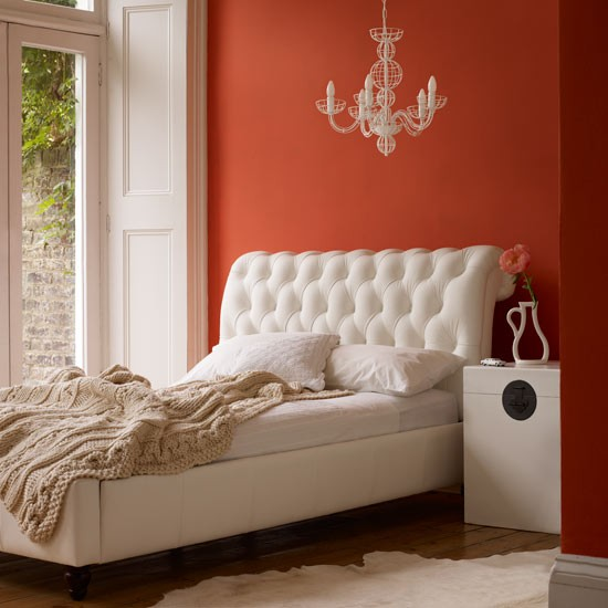 Orange bedroom | Bedrooms | Design ideas | Image | Housetohome
