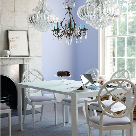 Glamorous dining room | Dining rooms | Design ideas | Image | Housetohome