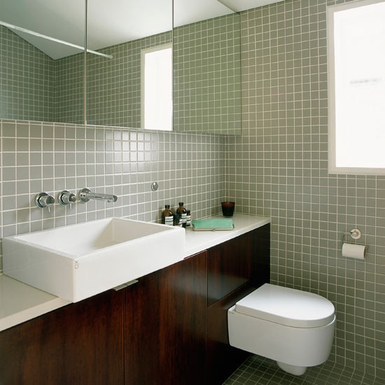 Save on floor space bathroom design ideas housetohome for Bathroom designs for small spaces uk