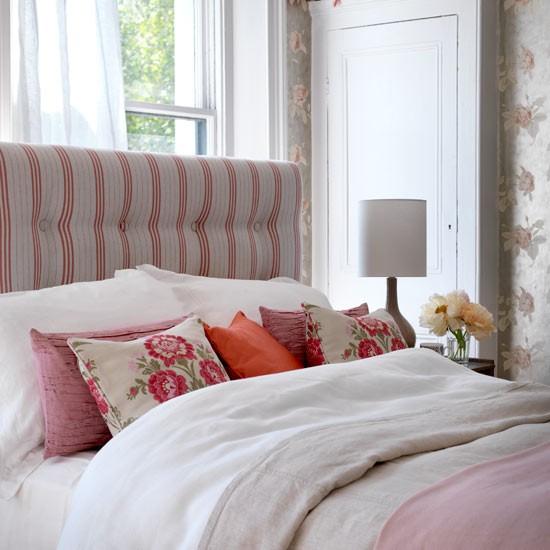 Bedroom modern country style decorating ideas house - Cabeceras de cama tapizadas ...