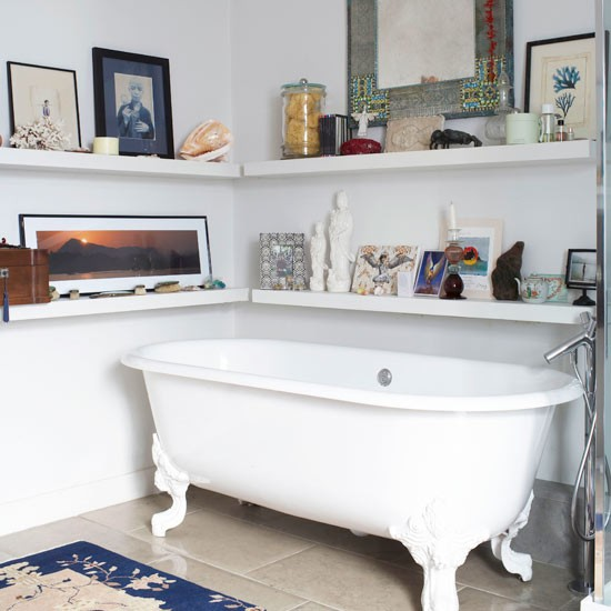 Bathroom display | Freestanding bath | Design ideas | Image | Housetohome
