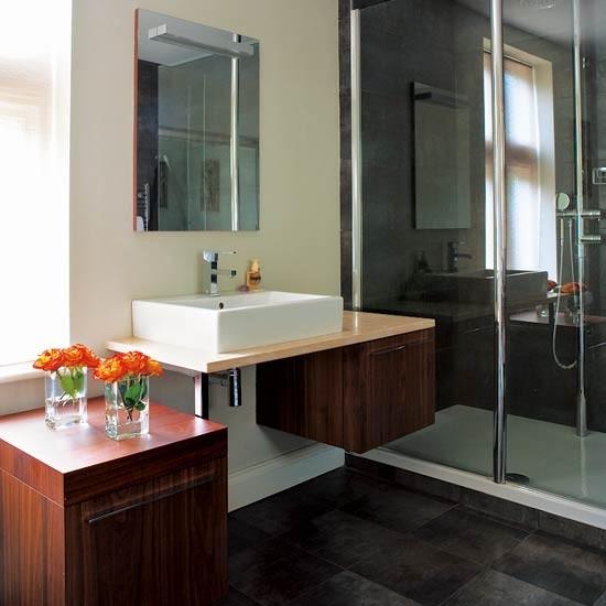 Warm wood bathrooms bathroom ideas image for Warm bathroom designs