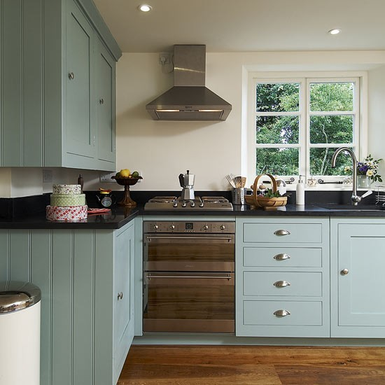 Update your kitchen on a budget for Are painted kitchen cabinets in style