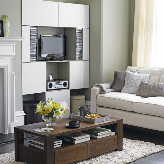 Overtly Olive Kitchen Paint: Clever Designs For Alcoves