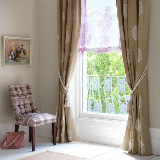 Tweeds & linens   Tweed curtains   Living rooms   Image   Housetohome