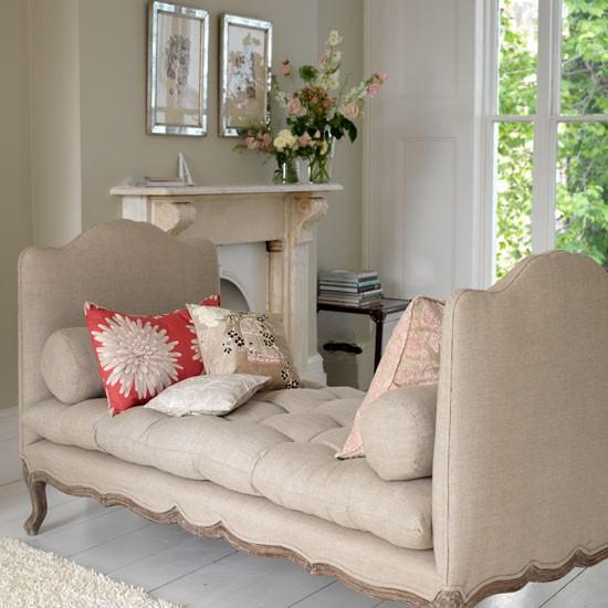 Cama de dia elegante | salas de estar | Decorando idéias | Imagem | Housetohome