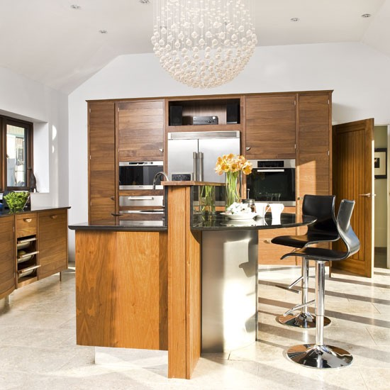 Warm walnut | Kitchens | Design ideas | Image | Housetohome