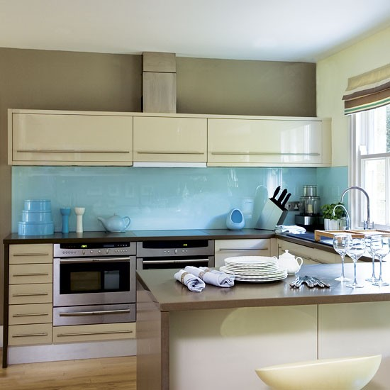 blue kitchen kitchens design ideas image
