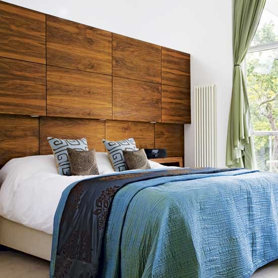 Feature headboard | Bedroom | Design ideas | Image | Housetohome